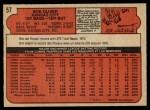 1972 O-Pee-Chee #57  Bob Oliver  Back Thumbnail
