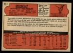 1972 O-Pee-Chee #131  Jim Nettles  Back Thumbnail