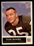 1965 Philadelphia #78  Tom Moore   Front Thumbnail