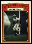 1972 O-Pee-Chee #226   -  Roberto Clemente 1971 World Series - Game #4 Front Thumbnail