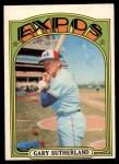 1972 O-Pee-Chee #211  Gary Sutherland  Front Thumbnail