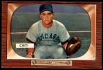 1955 Bowman #304  Harry Chiti  Front Thumbnail