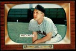 1955 Bowman #85  Cass Michaels  Front Thumbnail