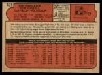 1972 O-Pee-Chee #425  Ken Singleton  Back Thumbnail