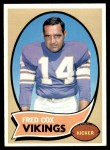 1970 Topps #238  Fred Cox  Front Thumbnail