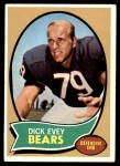 1970 Topps #106  Dick Evey  Front Thumbnail