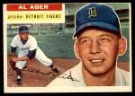 1956 Topps #317  Al Aber  Front Thumbnail