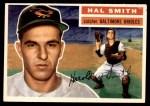 1956 Topps #62  Hal W. Smith  Front Thumbnail