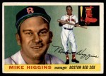 1955 Topps #150  Mike Higgins  Front Thumbnail