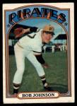 1972 O-Pee-Chee #27  Bob Johnson  Front Thumbnail