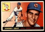 1955 Topps #101  Johnny Gray  Front Thumbnail