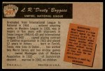1955 Bowman #297  Dusty Boggess  Back Thumbnail