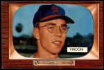 1955 Bowman #296  Bill Virdon  Front Thumbnail