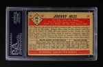 1953 Bowman Black and White #15  Johnny Mize  Back Thumbnail