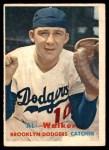 1957 Topps #147  Al Walker  Front Thumbnail