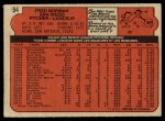 1972 O-Pee-Chee #194  Fred Norman  Back Thumbnail