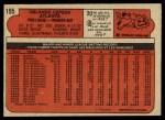 1972 O-Pee-Chee #195  Orlando Cepeda  Back Thumbnail