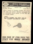 1959 Topps #122  Bill Glass  Back Thumbnail
