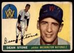 1955 Topps #60  Dean Stone  Front Thumbnail