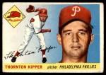 1955 Topps #62  Thornton Kipper  Front Thumbnail