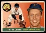 1955 Topps #192  Jim Delsing  Front Thumbnail