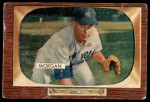 1955 Bowman #100  Tom Morgan  Front Thumbnail