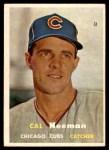 1957 Topps #353  Cal Neeman  Front Thumbnail