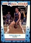 1989 Fleer Sticker #9  Chris Mullin  Front Thumbnail