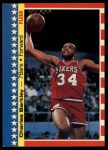 1987 Fleer Stickers #6  Charles Barkley  Front Thumbnail