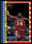 1987 Fleer Stickers #6  Charles Barkley  Front Thumbnail