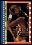 1987 Fleer Stickers #8  Kareem Abdul-Jabbar  Front Thumbnail