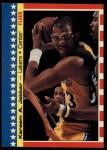 1987 Fleer Sticker #8  Kareem Abdul-Jabbar  Front Thumbnail