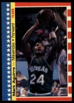 1987 Fleer Sticker #9  Mark Aguirre  Front Thumbnail
