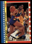 1987 Fleer Sticker #11  Alex English  Front Thumbnail