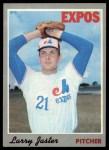 1970 Topps #124  Larry Jaster  Front Thumbnail