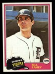 1981 Topps Traded #760 T Bill Fahey  Front Thumbnail