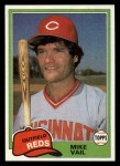 1981 Topps Traded #848 T Mike Vail  Front Thumbnail