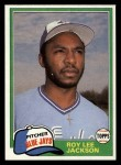 1981 Topps Traded #775 T Roy Lee Jackson  Front Thumbnail