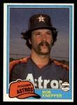1981 Topps Traded #782 T Bob Knepper  Front Thumbnail