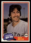 1981 Topps Traded #803 T Rick Miller  Front Thumbnail