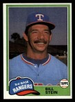 1981 Topps Traded #836 T Bill Stein  Front Thumbnail