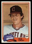 1981 Topps Traded #784 T Bob Lacey  Front Thumbnail