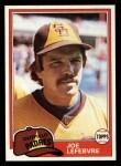 1981 Topps Traded #790 T Joe LeFebvre  Front Thumbnail