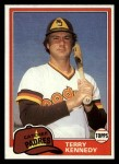1981 Topps Traded #780 T Terry Kennedy  Front Thumbnail