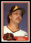 1981 Topps Traded #840 T Steve Swisher  Front Thumbnail
