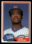 1981 Topps Traded #756 T Leon Durham  Front Thumbnail