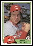 1981 Topps Traded #736 T Larry Bittner  Front Thumbnail