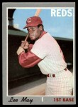 1970 Topps #225  Lee May  Front Thumbnail