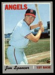 1970 Topps #255  Jim Spencer  Front Thumbnail