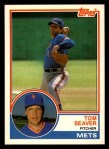 1983 Topps Traded #101 T Tom Seaver  Front Thumbnail